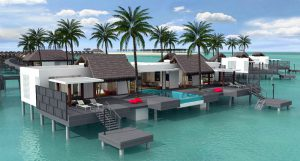 Presidential Water Villa - Emerald Maldives Resort & Spa