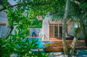 Family Duplex Beach Villa with pool - Amaya Kuda Rah