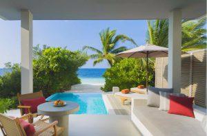 Beach Villa With Pool - Dhigali Maldives