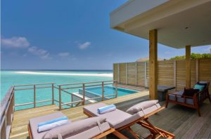 Lagoon Villa with Pool - Dhigali Maldives