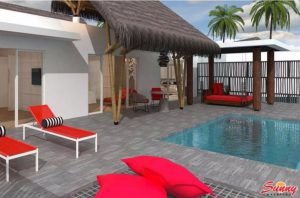 Superior Beach Villa with Pool - Emerald Maldives Resort & Spa