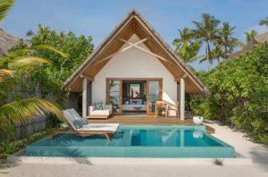 Pool Beach Villa Sunrise - Fushifaru Maldives