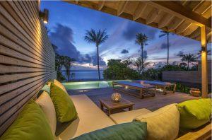 Beach Sunset Pool Villa - Hurawalhi Island Resort