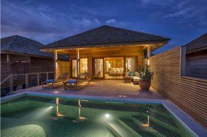 Ocean Pool Villa - Hurawalhi Island Resort