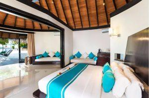 Family Deluxe Beach Villa with Pool - The Sun Siyam Iru Fushi Maldives