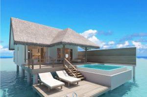 Ocean Suite with Pool - Sun Aqua Iru Veli
