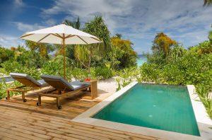 Beach Villa with Pool - Kudafushi Resort & Spa