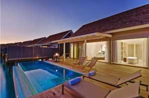 Thundi Water Villa With Pool - Kuramathi Maldives