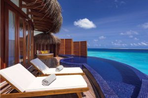 Honeymoon Water Suite with Pool - OBLU Select at Sangeli Maldives