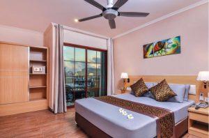 Deluxe Double with Island View - Trtiton Beach Hotel, Maafushi