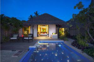 Beach Villa With Pool - Velassaru Maldives