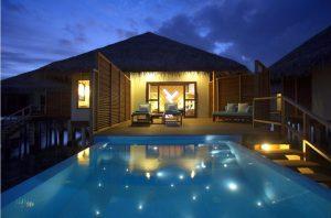 Water Bungalow with Pool - Velassaru Maldives